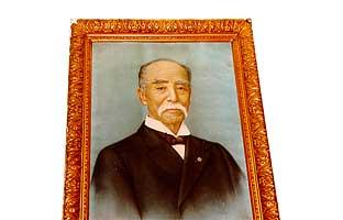 江原素六の肖像画