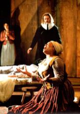 Angela Phinnimore as Tituba in 'The Crucible'