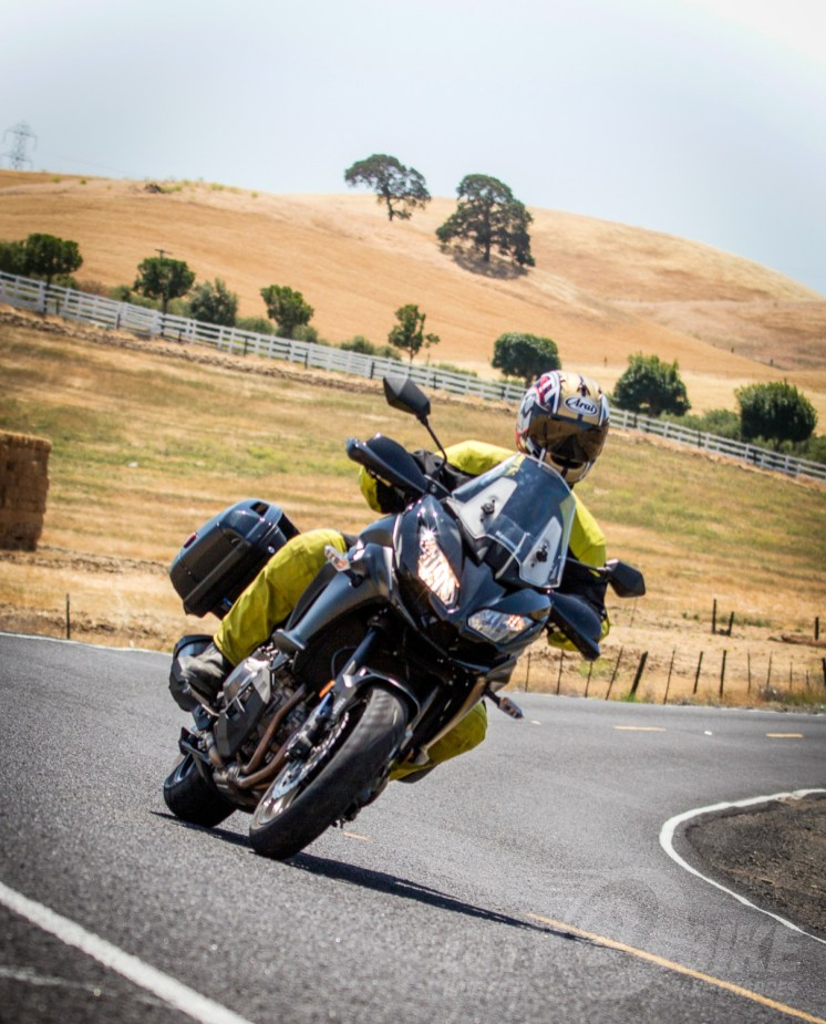 2015 Versys 1000 LT. Photo: Angelica Rubalcaba.