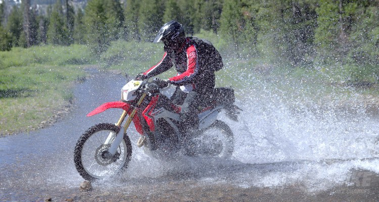 CRF250L project bike. Photo: Bungee Brent.