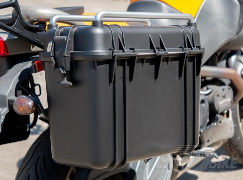 Outside of AcmeMoto2 Top-Loading Panniers