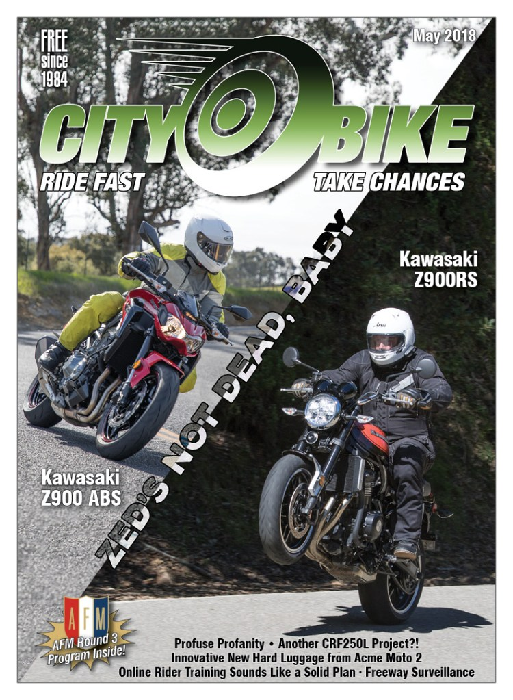 CityBike May 2018 Cover