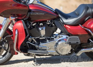 The Milawukee-Eight is reasonably smooth, and generally likeable without being too noticeable - Harley-Davidson Road Glide Ultra.