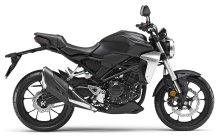 New 2019 Honda CBR300R Matte Gray side view