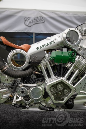 Curtiss Motorcycles Warhawk