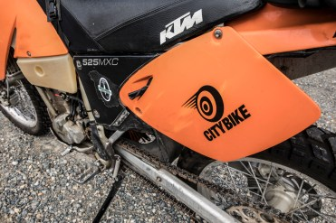 An's limited edition CityBike KTM