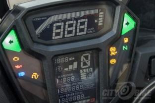 Honda Africa Twin DCT gauges