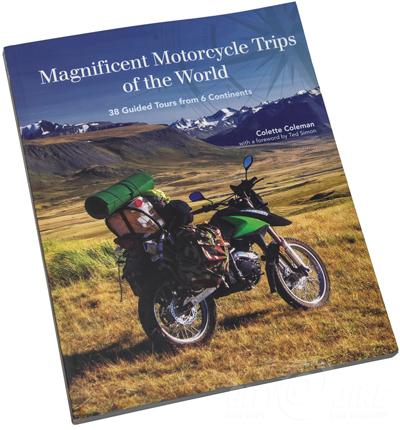 Magnificent Motorcycle Trips of the World book review
