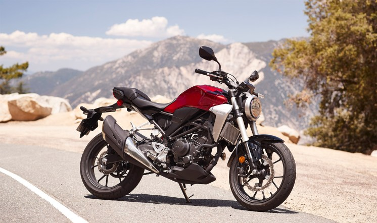 Honda's new 2019 CB300R