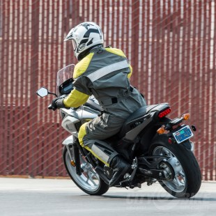 Honda NC700X. Photo: Angelica Rubalcaba.