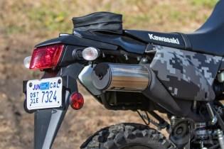 Kawasaki KLX250 - tail section.