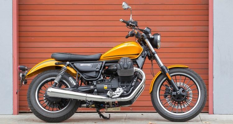 2016 Moto Guzzi V9 Roamer Feature