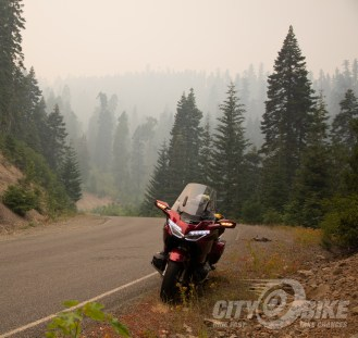Somewhere on Grayback road, in the smoke of the Carr Fire.