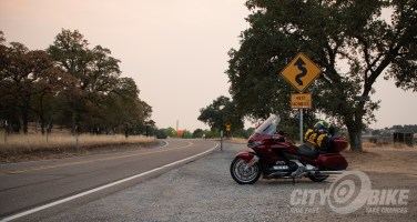 Uneasy Rider: Rolling Burnout - Highway 36 Carr Fire smoke