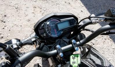 Kawasaki Z125 Pro gauges.