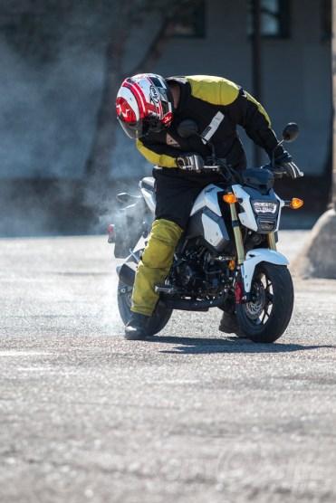 Honda Grom: burnout or burning up?