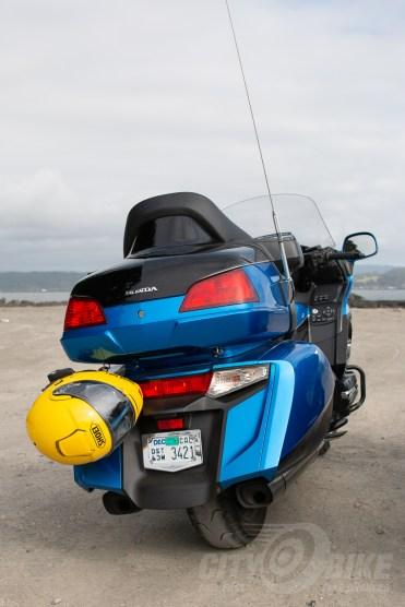Yep, that's where the helmet locks are.