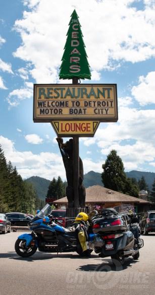 Detroit Motor Boat City, Oregon.