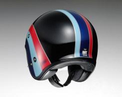 Shoei J•O open face helmet - Nostalgia - rear
