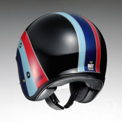 Shoei J•O open face helmet - Nostalgia - rear