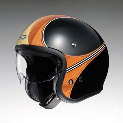 Shoei J•O open face helmet - Waimea - side