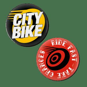 CityBike Pins