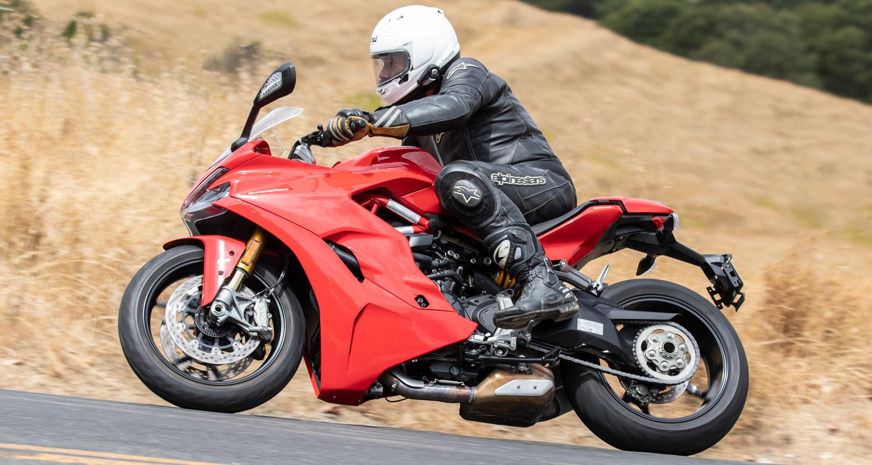 Sportbike or Sporty-bike? We Ride Ducati's SuperSport S   CityBike