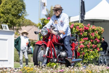 Kenneth Morris's 1968 BMW R60/2 at the 2019 Quail Motorcycle Gathering. Photo: Angelica Rubalcaba.