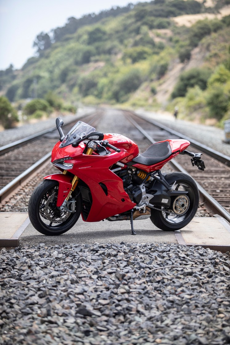 Ducati's SuperSport S, reviewed. Photos: Angelica Rubalcaba.