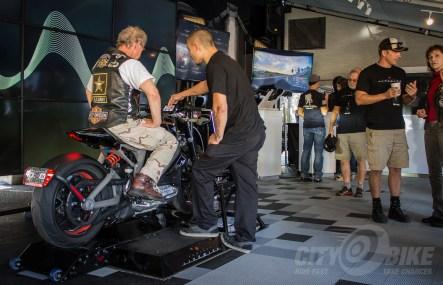 Harley-Davidson LiveWire prototype.