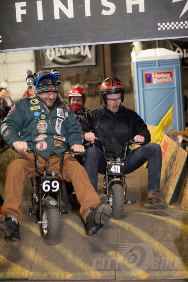 Dodgy Derby at the 2019 One Motorcycle Show.
