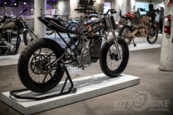 Alta electric motorcycle-based build at the 2019 One Moto Show.