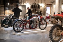 Custom build at the 2019 One Motorcycle Show.