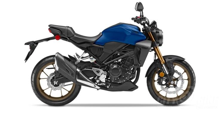 2020 Honda CB300R in Matte Pearl Blue