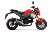 Honda Grom ABS in Cherry Red