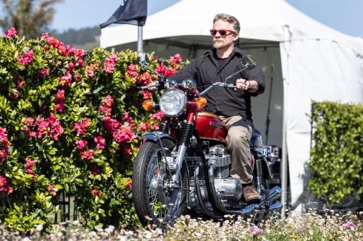 2019 Quail Motorcycle Gathering Best in Show - Sam Roberts 1959 Honda CB750 Sandcast. Photo: Angelica Rubalcaba.