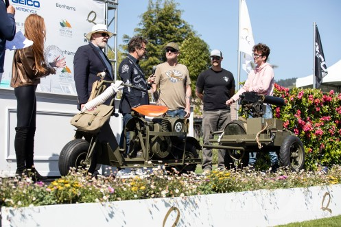 One of the machines from the Castle Family Collection, which won the Spirit of the Quail Award. Photos: Angelica Rubalcaba.