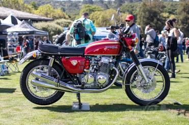 2019 Quail Motorcycle Gathering Best in Show - Sam Roberts 1959 Honda CB750 Sandcast. Phot: Angelica Rubalcaba.