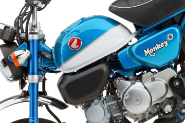 Honda Monkey turns blue for 2020