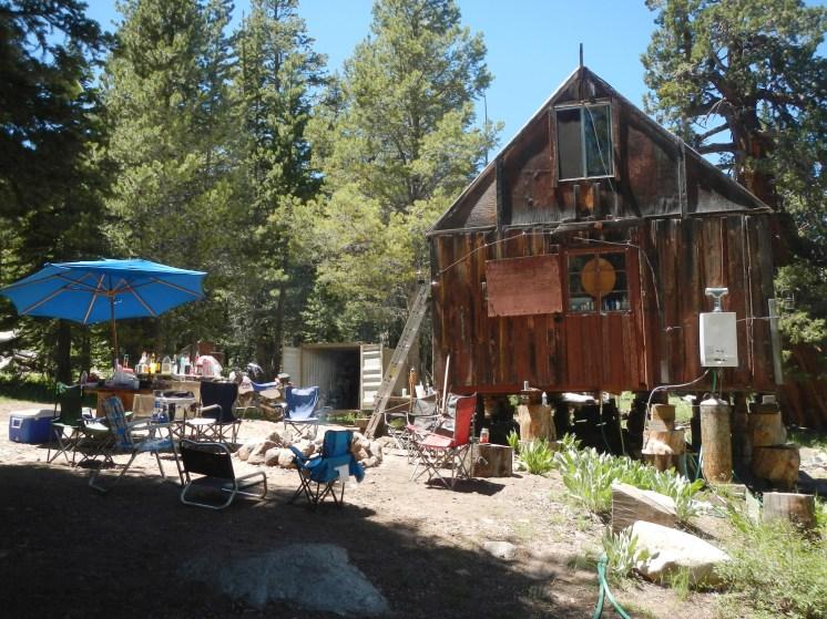 Cabin in the woods. Photo: Sam Devine.