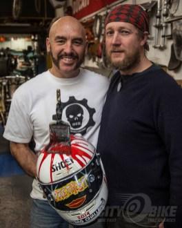 Turk (left) and Poll Brown, 2014. Photo: Bob Stokstad.