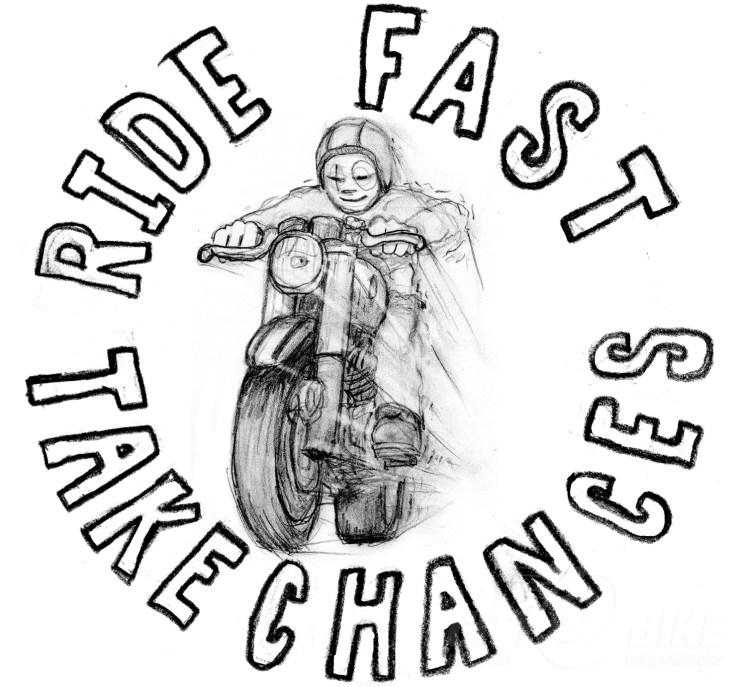 CityBike is the original home of Ride Fast Take Chances. Artwork: Mr. Jensen.
