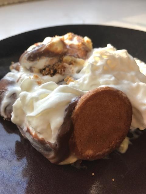 Weekend Recipe : Banana Chocolate Pudding Pie