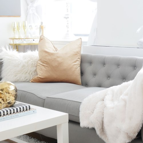 My Tips for Buying & Styling a Couch
