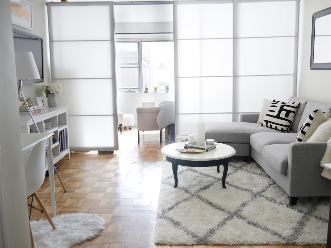 Before After Chic Meets Glam Inside A Nyc Studio Apartment City Chic Decor