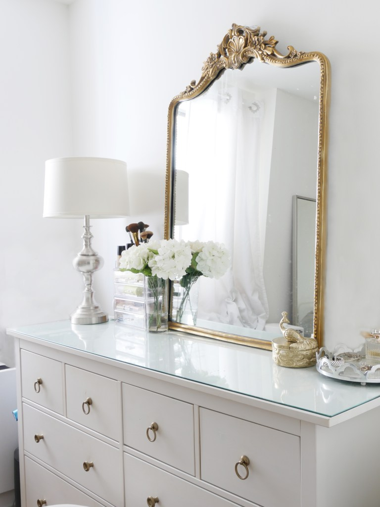 The Instant Trick to Making Your Dresser More Glamorous