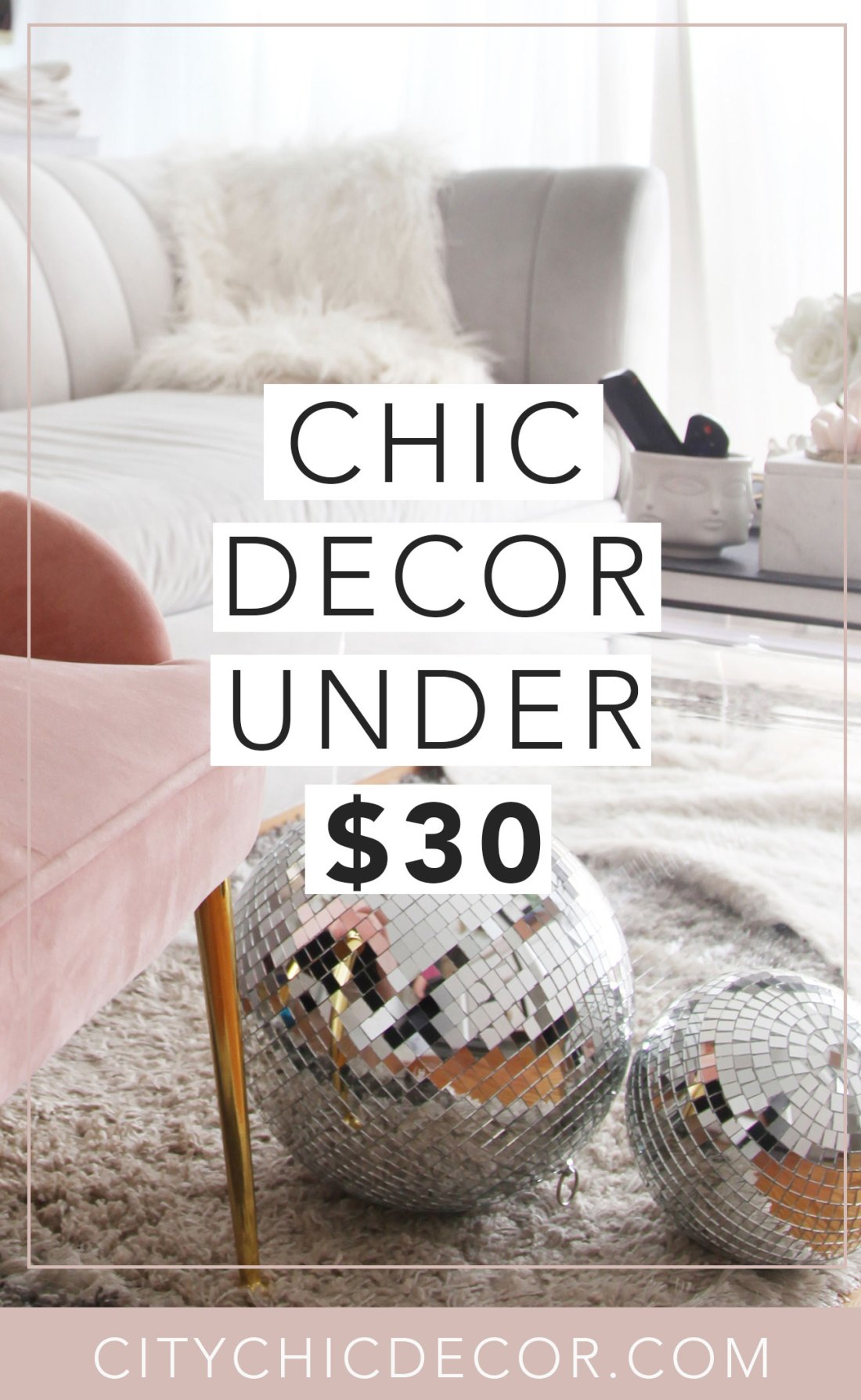 Just moved into a small apartment and are struggling to decorate it on a budget? These glam, affordable decor items from Amazon will blow you & your house guests away. You'll be shocked with how budget-friendly this furniture and decor is! #furnituredesign #furnitureideas #affordablefurniture #affordablefurnitureideas #amazon #thingstobuyonamazon #smallapartmentdecorating #smallapartmentideas
