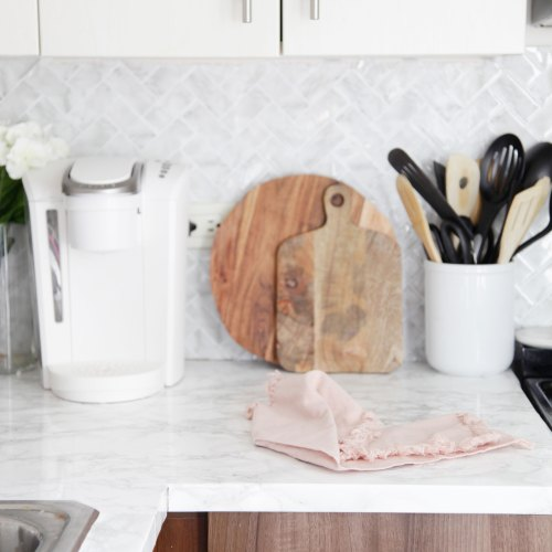 How I Transformed a Rental Kitchen on a Budget