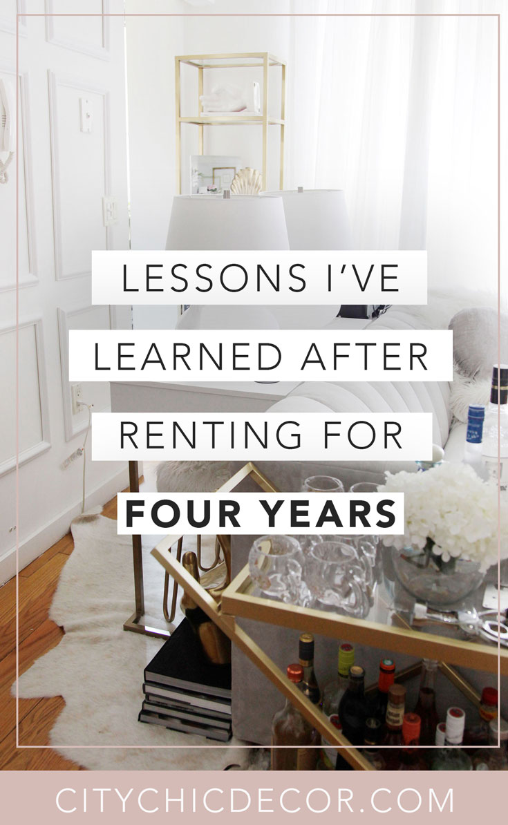 Struggle to decorate your rental apartment or studio apartment? Decorating your rental apartment, on a budget, can be super easy with these studio apartment ideas. Here is what I learned after renting for 4 years: #studioapartmentideas #studioapartmentdecorating #rentaldecorating #rentalapartmentdecorating #rentalhomedecoratingdiy #smallapartmentdecorating #smallapartmentideas