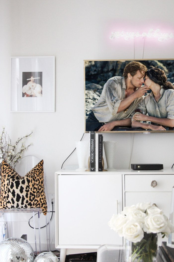 How to Create a DIY TV Frame for Only $12